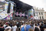 """1° maggio, tra musica e diritti sul lavoro a Roma è stato il """"concertone delle parolacce"""""""