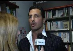 Fabrizio Corona alla presentazione del libro «La porta del cuore»