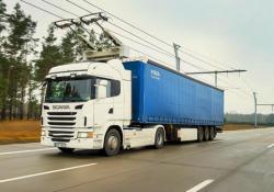 Il progetto riguarda sperimentazione in Germania con Tir elettrici alimentati dalla rete come tram e filobus