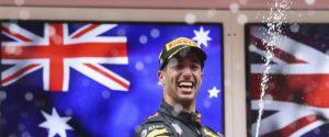 Gp Monaco, Ricciardo vince nonostante i problemi: Vettel ed Hamilton sul podio