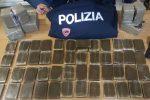 La droga sequestrata in via Porcelli