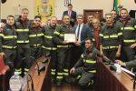 Salvò tre bambini da un incendio: encomio a pompiere di Salemi