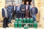 L'Esa dona 400 chili di olio alla diocesi di Agrigento