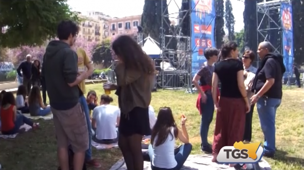 Primo Maggio, festa dei ragazzi a Palermo