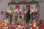 La festa dei tre fratelli Santi Alfio, Filadelfo e Cirino: il video da Trecastagni