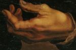 La mano sinistra di Michelangelo colpita dall'artrosi (fonte: Clinical Anatomy)