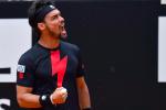 Tennis, continua il sogno di Fognini agli Internazionali d'Italia: l'azzurro è ai quarti