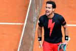 Tennis, Internazionali di Roma: impresa di Fognini, battuto l'austriaco Thiem