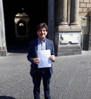 Il candidato sindaco di Catania Giovanni Grasso