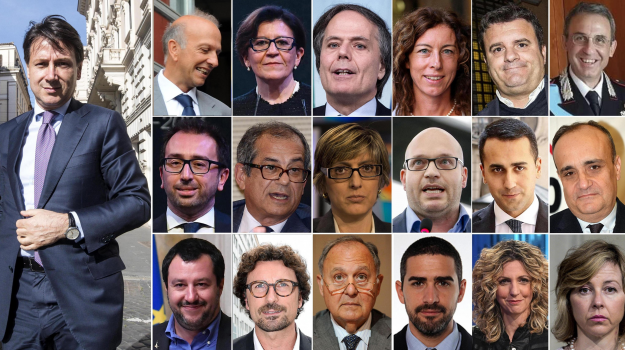 governo conte, lista ministri, Sicilia, Politica