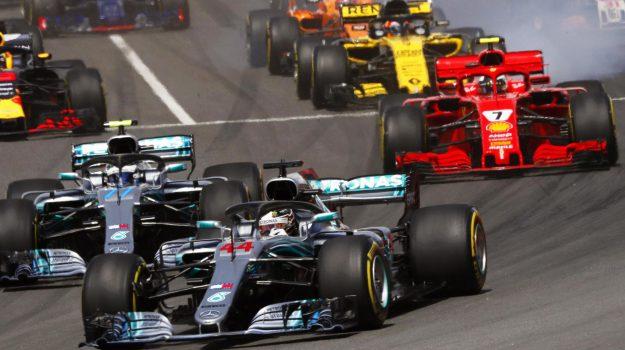 formula uno, gran premio spagna, ritiro raikkonen, Kimi Raikkonen, Lewis Hamilton, Sebastian Vettel, Sicilia, Sport