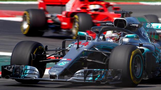 barcellona, Ferrari, Gp Spagna, Lewis Hamilton, Sebastian Vettel, Sicilia, Sport