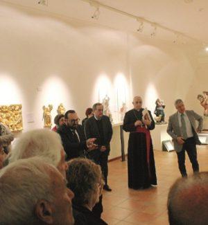 L'inaugurazione del museo diocesano (Foto di Cristina Puglisi)