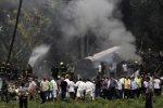 L'immagine del Boeing 737 che si è schiantato al decollo a Cuba