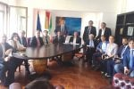 I capigruppo del Comune di Palermo all'incontro sullo'hotspot dello Zen