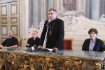 L'arcivescovo di Palermo, Corrado Lorefice
