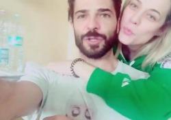 Con la moglie Laura Chiatti in un video su Instagram