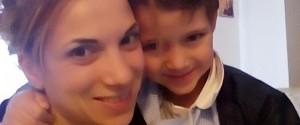 Maria Stella Traina e il figlio Angelo