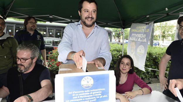 Lega m5s, nuovo governo, nuovo premier, Luigi Di Maio, Matteo Salvini, Sicilia, Politica