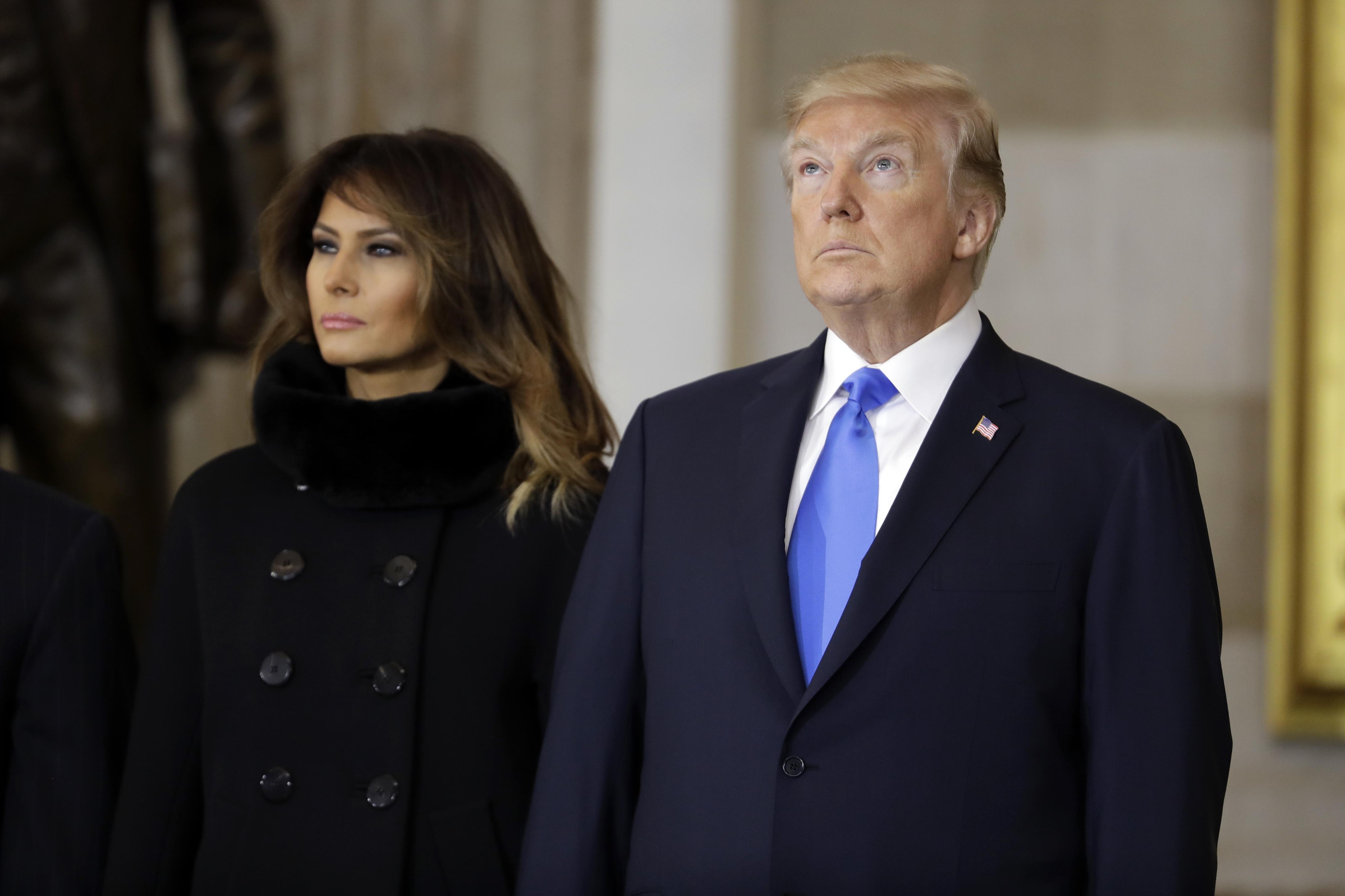 Donal Trump e Melania sono separati in casa, secondo il Washington Post