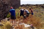 Militari americani di Sigonella ripuliscono il lungomare di Catania