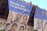 La nave della legalità arrivata a Palermo tra canti, striscioni e cori per Falcone e Borsellino