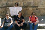 Palermo, nuova protesta degli ex dipendenti dell'Opera Pia Ruffini