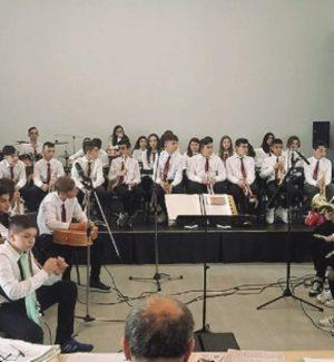 L'orchestra dell'istituto San Francesco