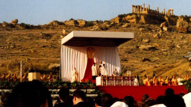 Wojtyla contro la mafia 25 anni fa, Carmelo Ferraro, Francesco Montengro, giovanni paolo ii, Papa Francesco, Agrigento, Cronaca