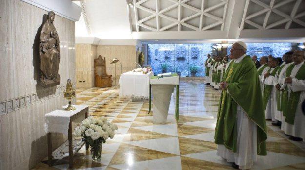 papa madonna di siracusa, Papa Francesco, Sicilia, Cronaca