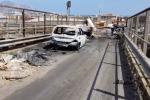 Il ponte Chiaravelli tra i rifiuti, Brancaccio, Palermo