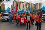 Passante ferroviario a Palermo, cantiere fermo: in piazza i 260 lavoratori a rischio