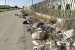 Rifiuti in strada: fioccano le multe a Trapani