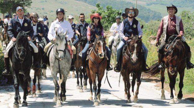 sambuca visite a cavallo, Agrigento, Società