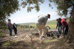 Gli scavi del Dipartimento americano della difesa in corso tra Santa Ninfa e Partanna