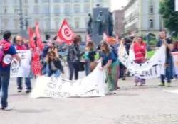 Proteste in tutta Italia, in Piemonte previsti 81 licenziamenti e 25 trasferimenti