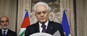 """Mattarella: """"Mi è stato chiesto tempo, da martedì nuove consultazioni"""""""