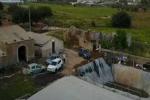 Sei tonnellate di cannabis piantate tra i pomodorini a Vittoria: le riprese dal drone