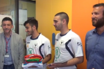 Palermo, squadra di calcio di ex pazienti incontra i bimbi dell'Oncoematologia