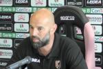 """Palermo, Stellone deluso: """"Ora battiamo la Salernitana e teniamo il quarto posto"""""""