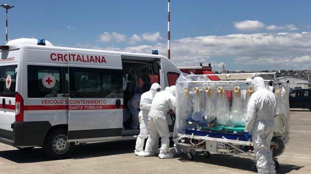 volo aereo per un paziente con tubercolosi, Catania, Cronaca