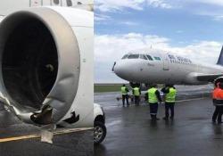 L'aereo perde pezzi. I piloti avrebbero trascurato le regole di sicurezza
