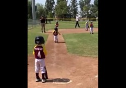 Questo bambino non digerisce bene gli ordini del suo coach