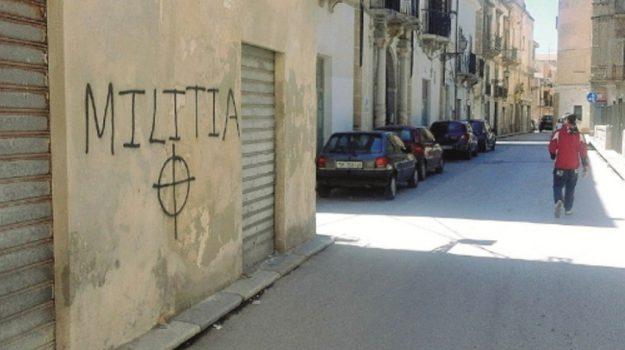scritte fasciste marsala, Trapani, Cronaca