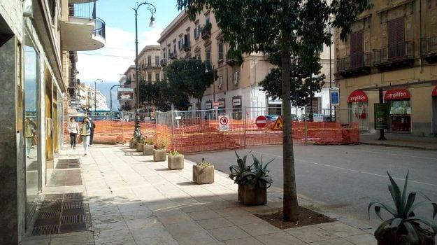 cantiere collettore fognario palermo, cantiere via roma palermo, Palermo, Cronaca