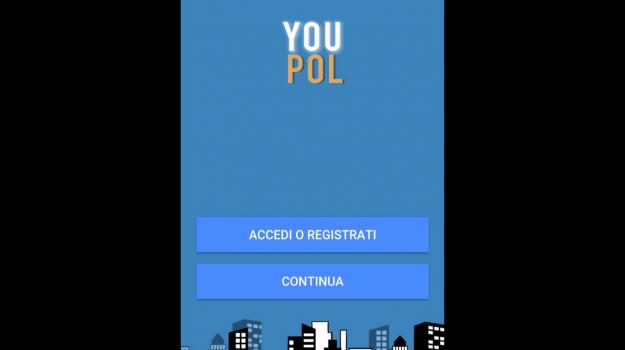 app youpol, Trapani, Società