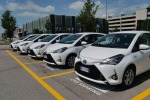 A Venezia nuovo servizio car sharing ibrido Toyota