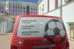 Mondiali Calcio, Svizzera schiera in difesa mezzo a 4 ruote