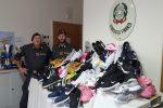 False griffe, quasi 350 scarpe sequestrate durante una sagra a Mussomeli