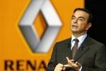 Stipendio abbondantemente ridotto nel 2018 per il CEO di Renault Carlos Ghosn